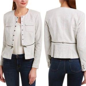 CAbi Zip Line Blazer Jacket #205 Size 6 NWT